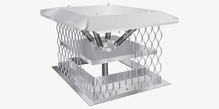 Chim A Lator Top Sealing Damper Bernard Dalsin Manufacturing