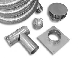 Stainless Steel Two-Piece Flex Tee Kit (Type 316L)