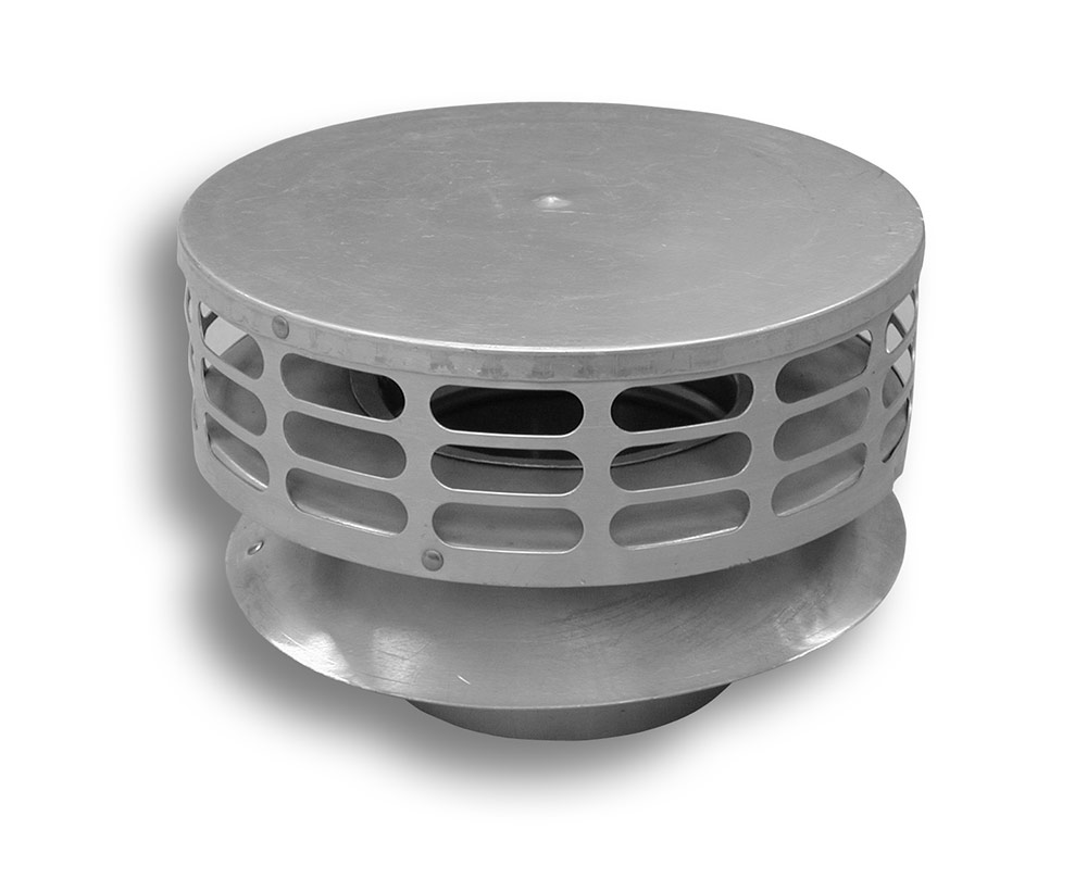 24 Gauge Stainless Steel Low Profile Rain Cap (Type 316L) Category Image