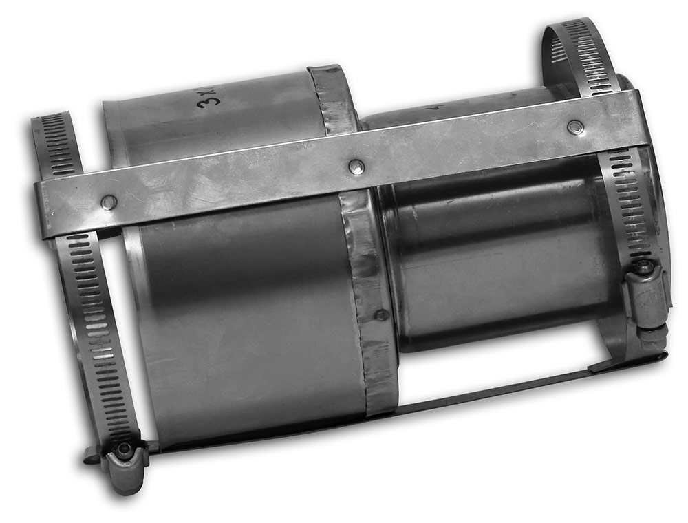 Flex to Pipe Adaptor Increaser – Type 304 Stainless Steel (Wood) Category Image