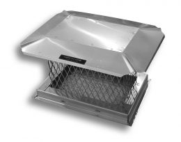 Stainless Steel Chimney Cap – Square
