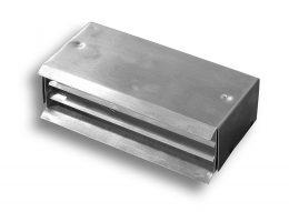 Aluminum Brick Louver – Fixed