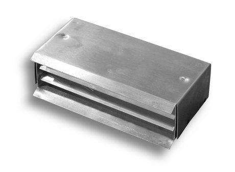 Aluminum Brick Louver - fixed