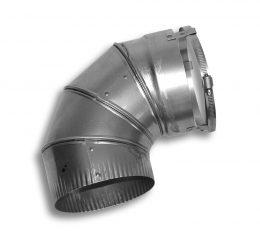 24 Gauge 90˚ Flex Elbow (Type 316L)