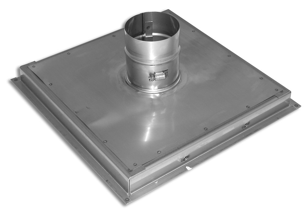 Stainless Steel Support Plate With 18 Gauge Frame