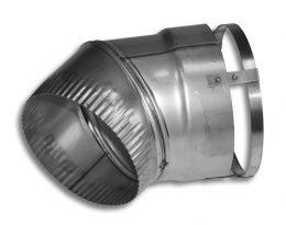 24 Gauge 45˚ Flex Elbows (Type 316L)