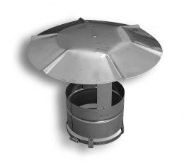 24 Gauge Flex Rain Cap (Type 316L)
