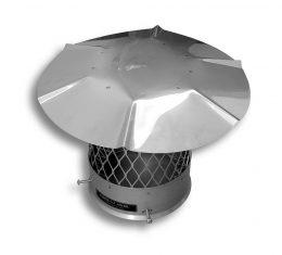Stainless Steel Chimney Cap – Round