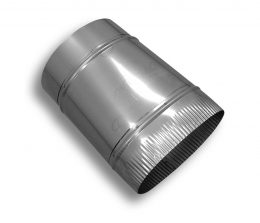 Oval to Round Stainless Steel Adaptor