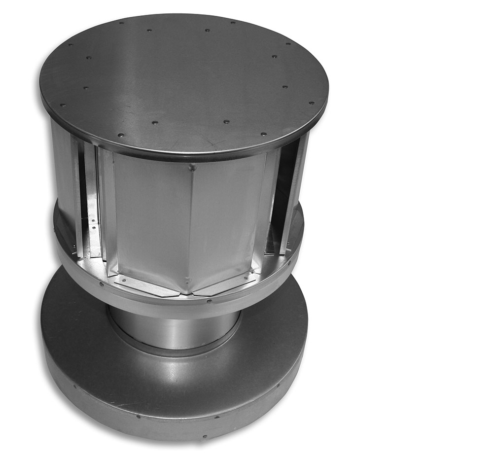 Pro-Form® Vertical Round Co-Linear DV Termination Cap (with Round Base) Category Image