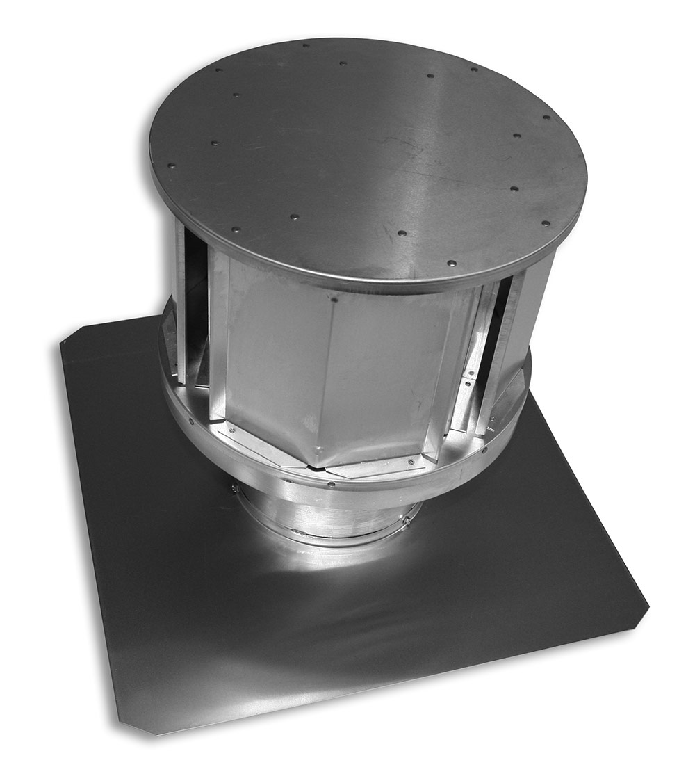 Pro-Form® Round Co-Linear DV Termination Cap (with Square Base) Category Image
