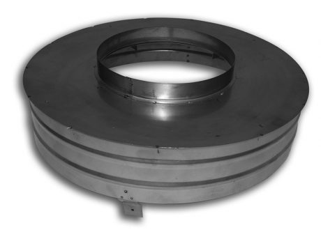 Pro-Form Base for SS Vertical Round Co-Linear Cap