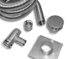 Stainless Steel Flex Pellet Kit (Type 316L)