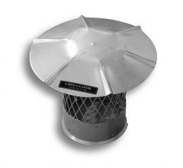 24 Gauge Stainless Steel Pipe Cap (Type 304)