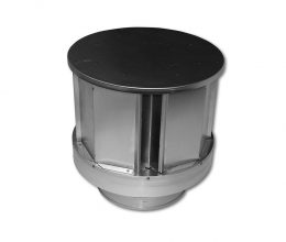 Pro-Form® Vertical Round Co-Linear DV Termination Cap (with No Base