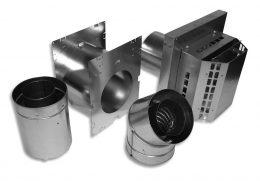 Pro-Form® Galvanized Fireplace Kit
