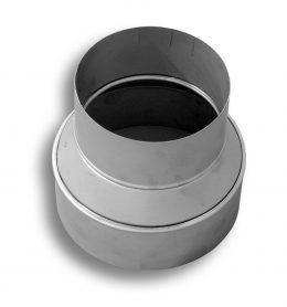24 Gauge Stainless Steel Reducer