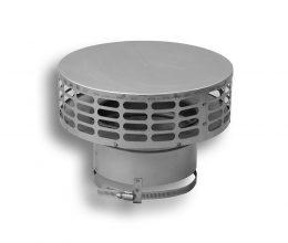 24 Gauge Low Profile Flex Rain Cap (Type 316L)