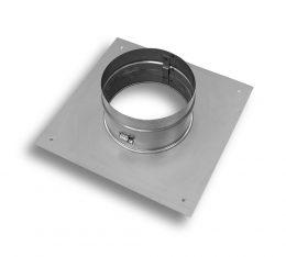 24 Gauge/18 Gauge Stainless Steel Flex Support Plate