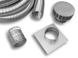 Stainless Steel Flex Connector Kit (Type 316L)