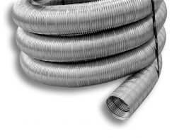 Light Round Flexible Stainless Steel Liner (Type 316L)
