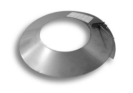 24 Gauge Stainless Steel Storm Collar Bernard Dalsin