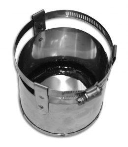 24 Gauge Flex Pellet Tee Cap (Type 316L)