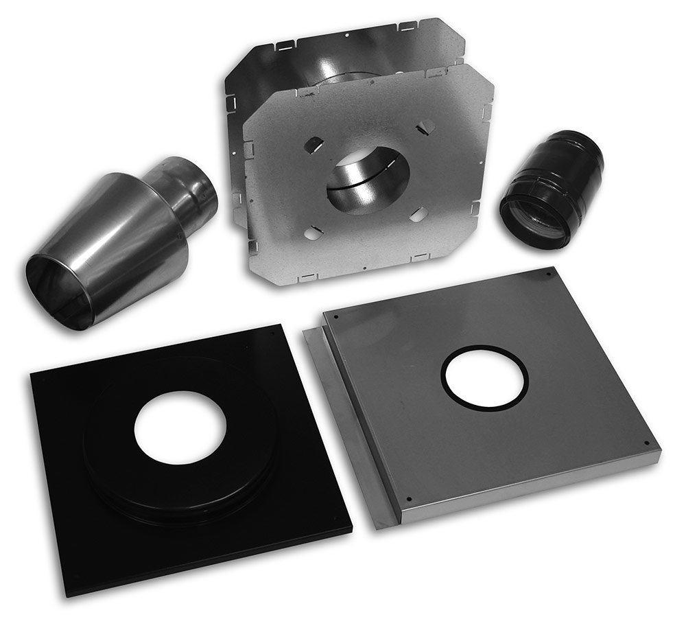 Bio Vent® Wall Vent Kit – Type 304 Stainless Steel (Wood) Category Image