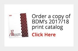 Order a copy of BDM's print catalog!